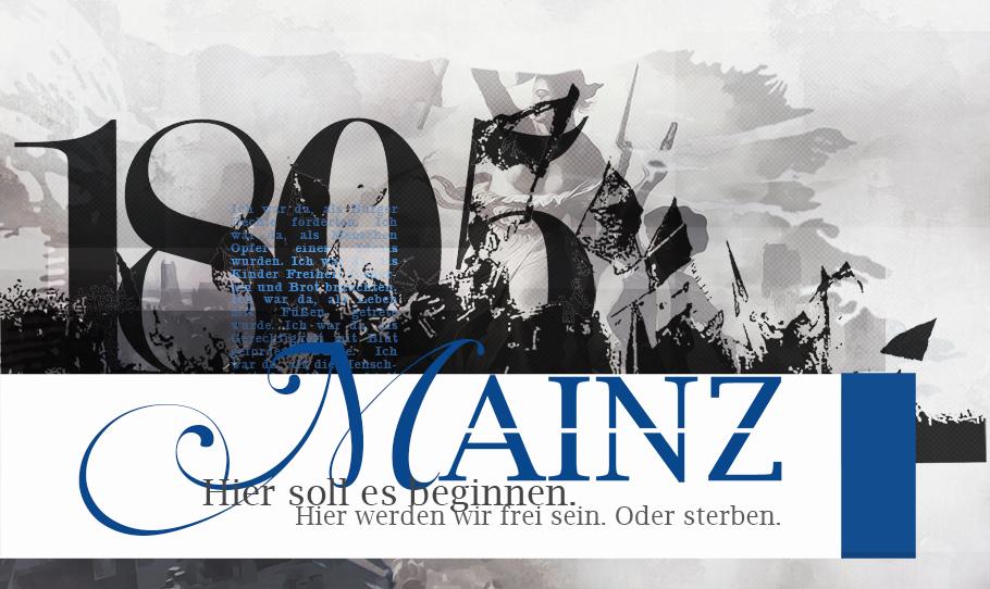 Mainz 1805 - Das Jahr der rEVolution